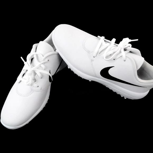 02f76c32c3f2 Nike Roshe G Tour Women's Golf Shoes White Black. M_5cba32d1aa7ed37a0116fe11